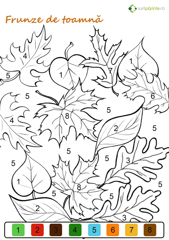 Frunze De Toamna De Colorat Suntparintero
