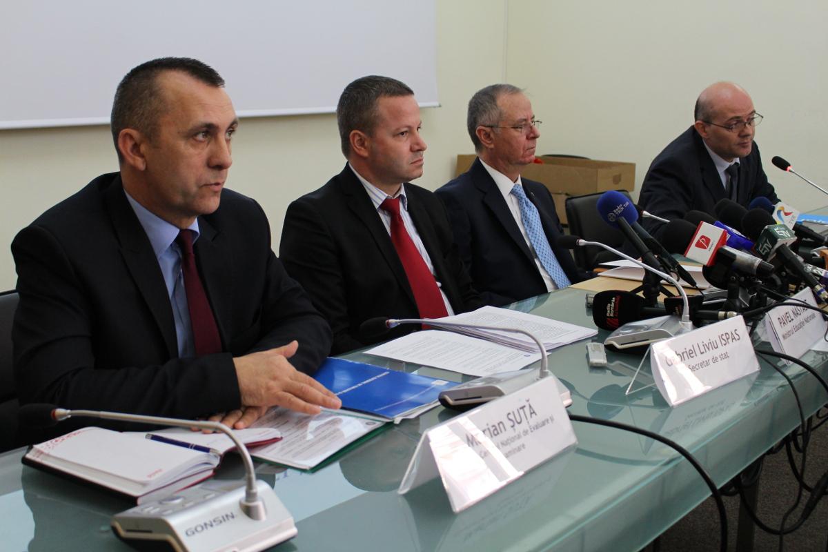 conferinta de presa ministerul educatiei