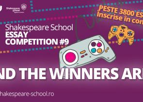 shakespeare school essay competition castigatori