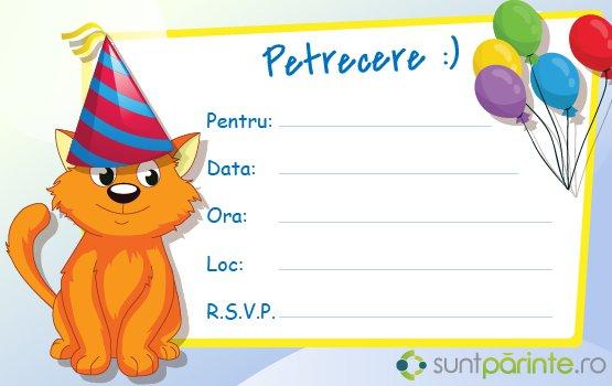 invitatii la zile de nastere copii Invitatii petrecere copii   SuntParinte.ro invitatii la zile de nastere copii